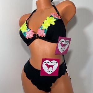 Victoria's Secret PINK 2 S M L Pc Bathing Suit Set